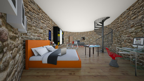 My dream bedroom - Bedroom - by Zied James