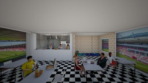 stadion restaurant - by lokneszikolbasz
