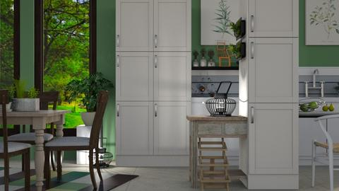 All Natural - Rustic - Kitchen  - by millerfam