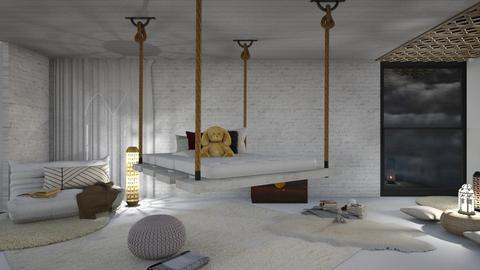 Cool bedroom - Minimal - Bedroom  - by Jahsoftball_