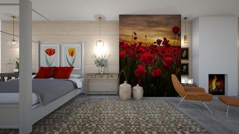 amapolas - Bedroom  - by ana111