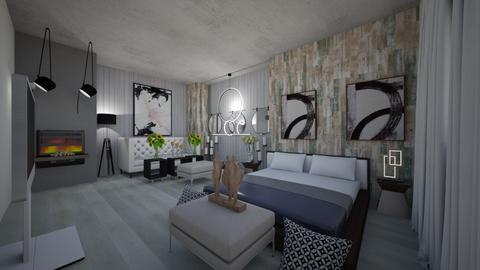 Hotel_Suites_Interior Design - Bedroom  - by Nikos Tsokos