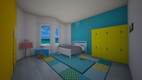 beach kidsroom - Kids room  - by sabilife