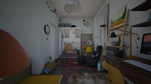 upstairs - by paulinem