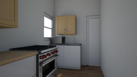 Kitchen layout2 - Kitchen  - by huynha