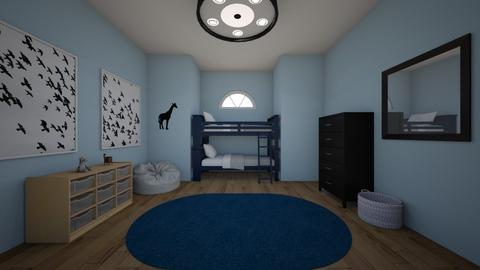 Blue Room - Kids room - by KJJ