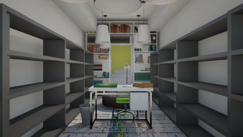Office kiwi - Modern - Office  - by Evangeline_The_Unicorn