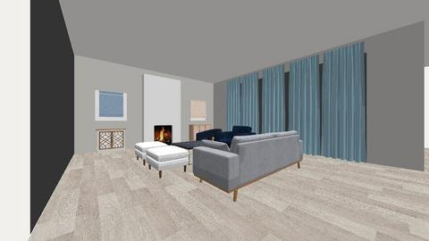Great Room 2 - Living room - by ishikha4u
