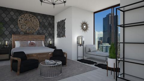 MidCentury Modern Retreat - Modern - Bedroom  - by stokeshannah
