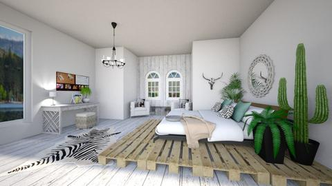 dream room - Country - Bedroom  - by cfowle9094