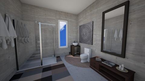 Minimalist Bathroom - Modern - Bathroom  - by Mazzz02