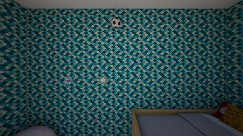 sport room - Bedroom  - by averielindsey