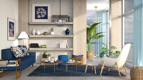 M_ Seaweed - Living room  - by milyca8