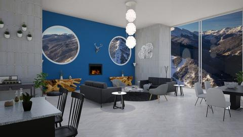 Dreamy Aspen Views - Modern - Living room  - by stokeshannah