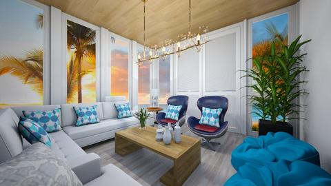 Sea side - Living room  - by nkanyezi