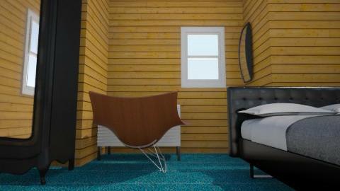 OldBedRoom - Country - Bedroom  - by wayne zhen