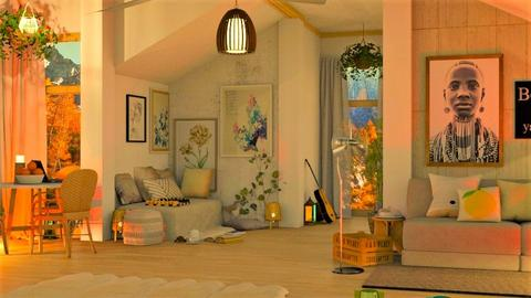 Living room Night - Modern - Living room  - by MB2006