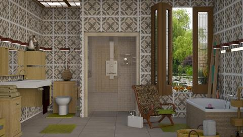 lily tiles - Modern - Bathroom  - by nat mi