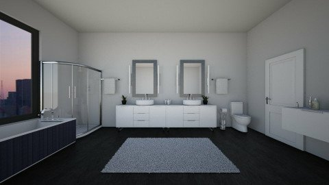 Bathroom - by sweetswagger123