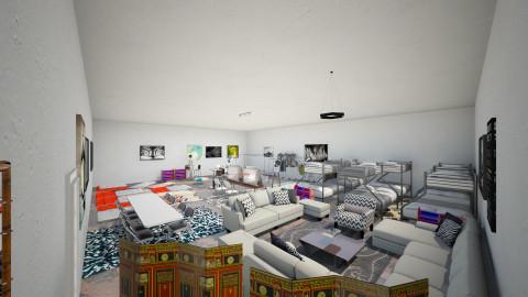 UofAZ ITF Room - Minimal - by girlgirl411