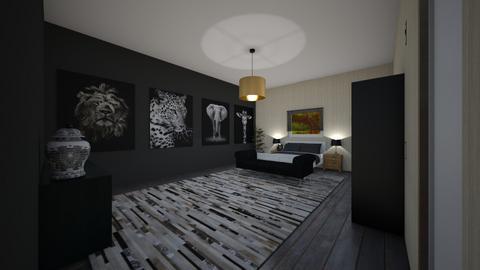 Jungle Bedroom - Bedroom  - by RhodriSimpson13