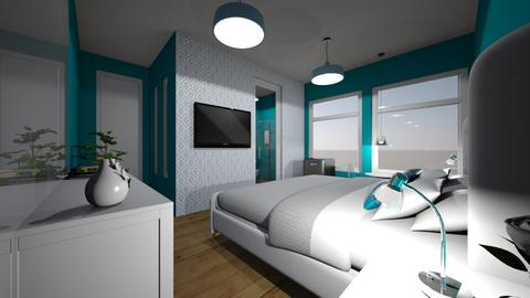 quarto de hotel RS - Glamour - Bedroom - by kelly lucena