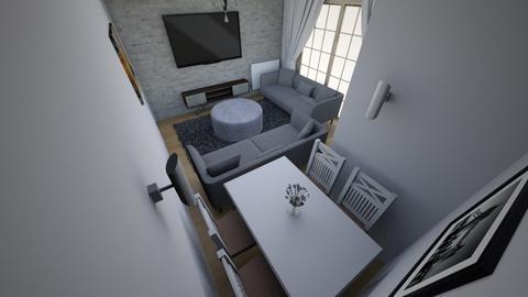 Minimalist salon 4 - Modern - Living room  - by filozof