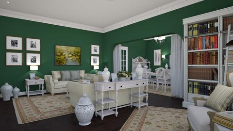 Woodland View 7 - Classic - Living room - by Claudia Correia