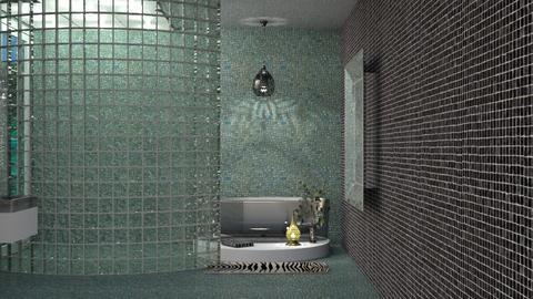 luxury freestanding bath - by Teri Dawn