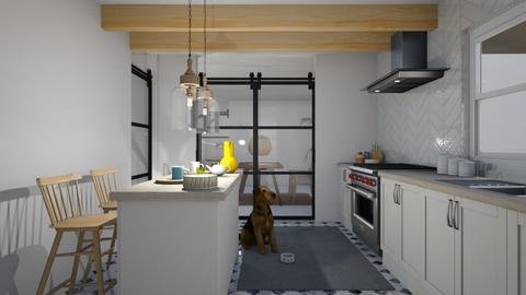 COSY AUTUMN KITCHEN - Country - Kitchen  - by kekaibn