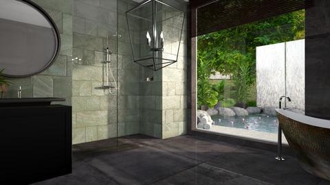 bathroom - by anjaam