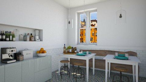 Bistro Corner - Vintage - Dining room  - by Maria Esteves de Oliveira