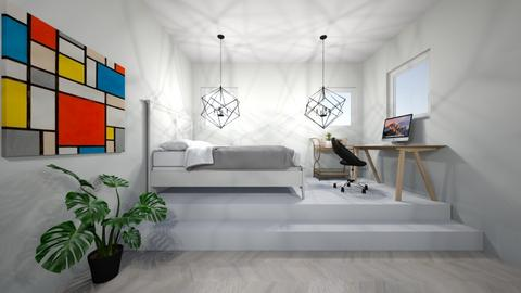 bedroom - Modern - Bedroom - by Kootje