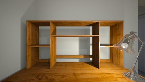 My Desk Latrobe - Office - by WestVirginiaRebel