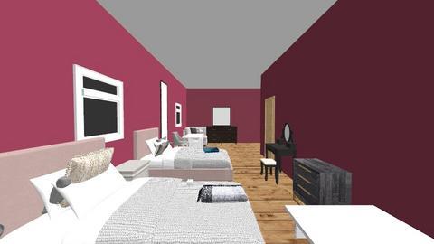 Naimyah and Abigail bedro - Classic - Bedroom  - by Naimyah