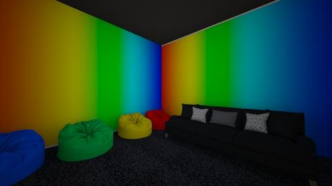 Rainbow - Living room  - by deona