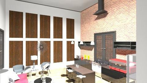 Loft3 - Living room - by marielabatalla
