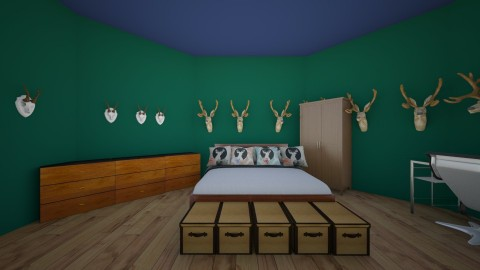 dads room - Bedroom - by KB DAVIS