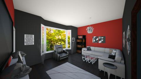 Living room 2 - Living room - by HopeLovesCookies