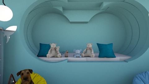 Children s corner_noa - Minimal - Bedroom  - by Agamanta