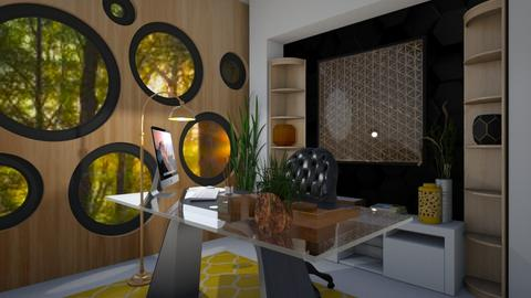 Honeycomb Office - Office  - by Chel_0270