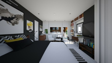 Bedroom redesign - Modern - Bedroom  - by _Taz_