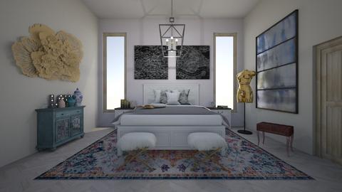 Elegant Rustic Tones - Bedroom - by meredithcrummey