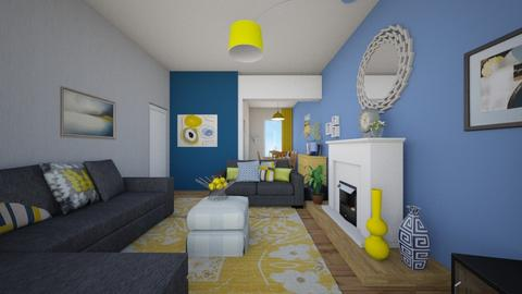 Modern Cosy Lounge   - Modern - Living room - by Interiors by Elaine