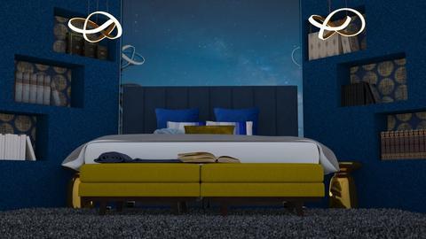 Starlight Night - Bedroom  - by ShazaD14