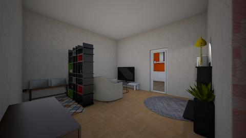 Wohnzimmer_Haus2 - Classic - Living room - by Jojoapple
