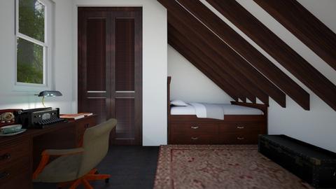 Writer's Garret - Bedroom  - by SammyJPili
