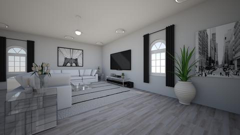 White Glam - Glamour - Living room  - by Sunshine Girl