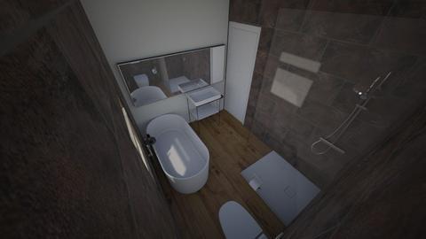 lazienka - Bathroom  - by KarolM93