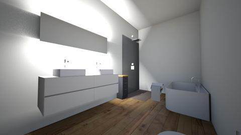 001 - Modern - Bathroom  - by Calvin1029